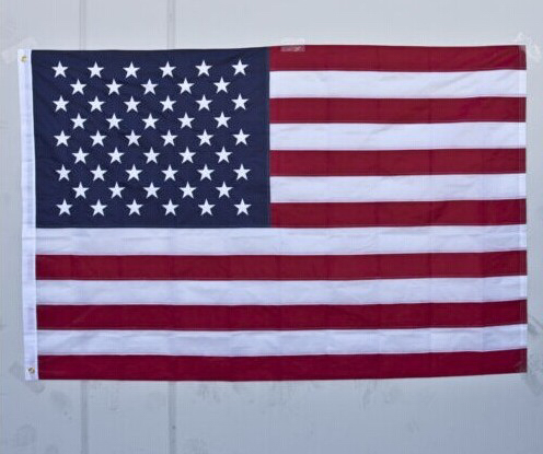 4'x6' FT New USA US American Flag Sewn Stripes Embroidered