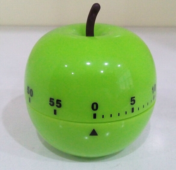 Apple shaped timer