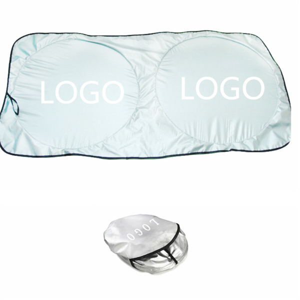 Auto Sun Shade With A Pouch