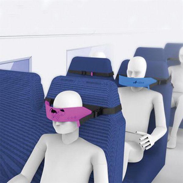 Automobile Creative Sleep Mask Settle Head Blinder