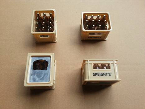 Beer Crate Shaped Bottle Opener