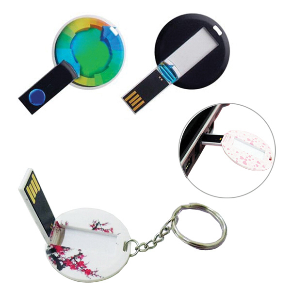 Button Badge USB Flash Driver