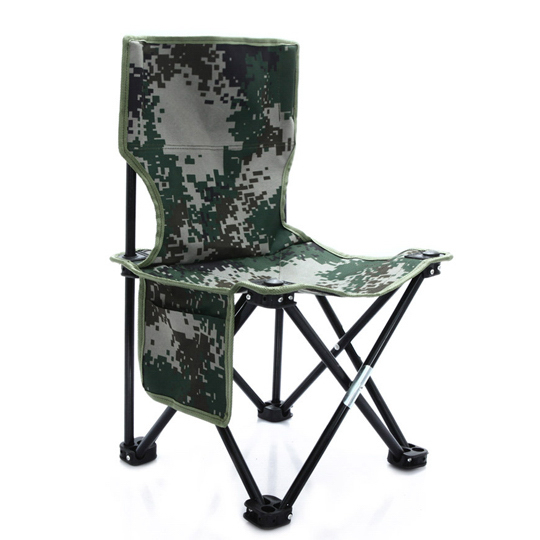 Camouflage Fishing Folding Stool Chair