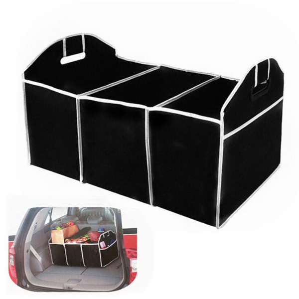 Car Trunk Collapsible Stuff Tools Food Organizer Storage Bag