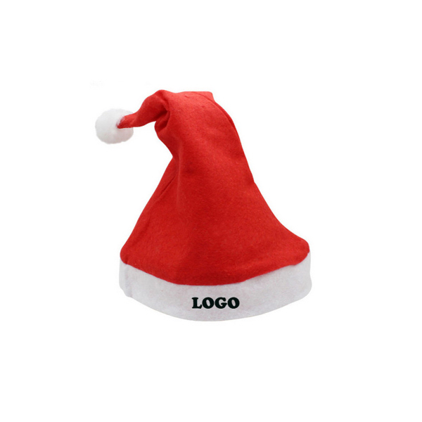 Customized Santa Hat (Adult Size)