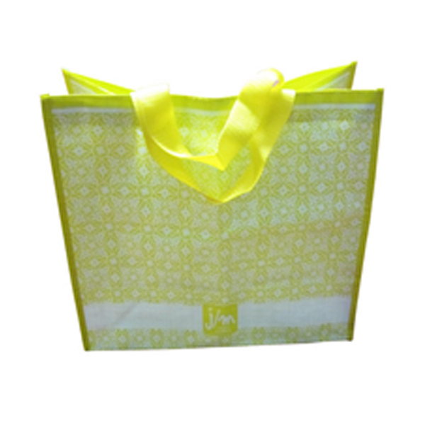 Eco- friendly PP woven shopping bag