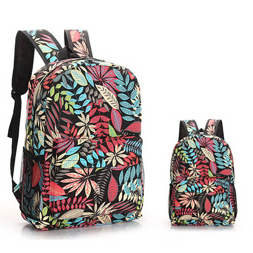 Floral Campus Backpack
