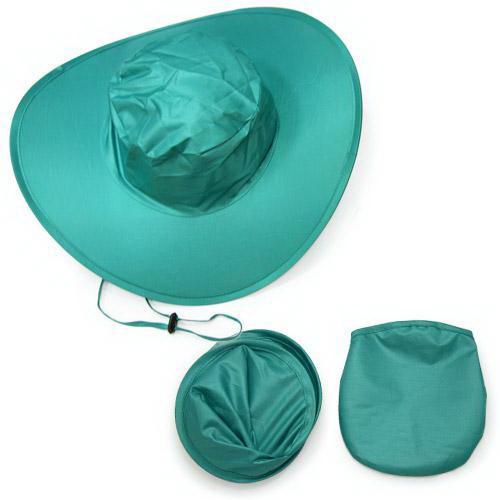 Foldable Hat with Pouch