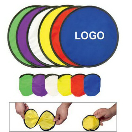 Folding Flying Disc With Pouch