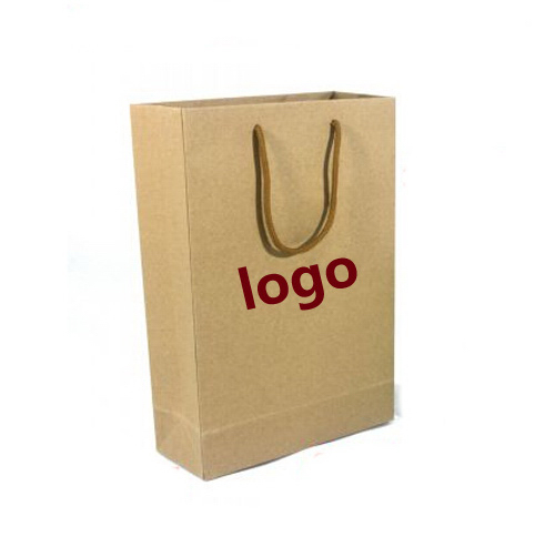 Kraft paper tote bags with customized printing