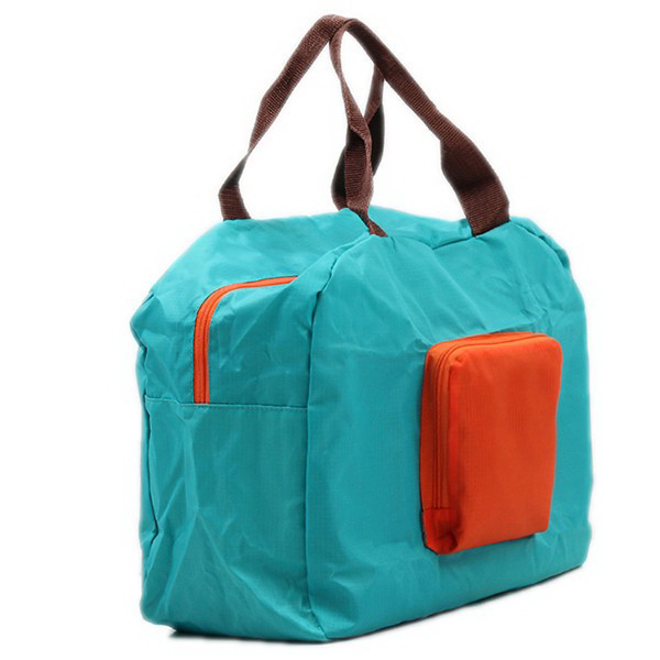 Large Capacity Reusable Polyester Folding Travel Storage Bag