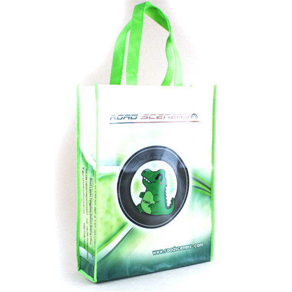Non Woven Tote Bag w/Gloss Lamination