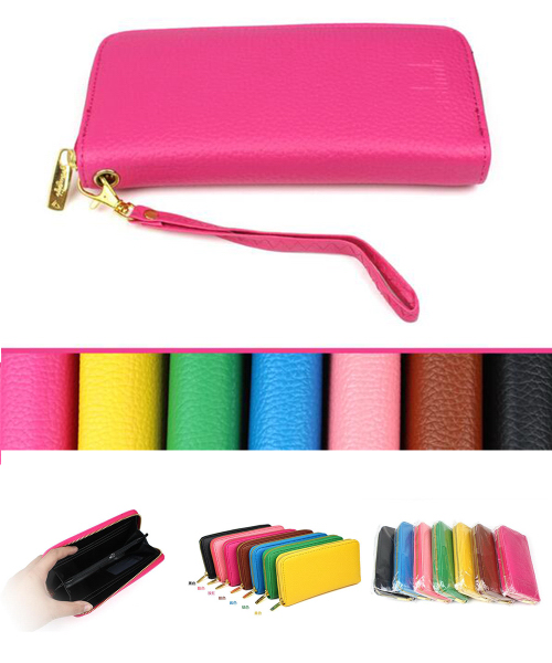 PU leather fashion ladies purse
