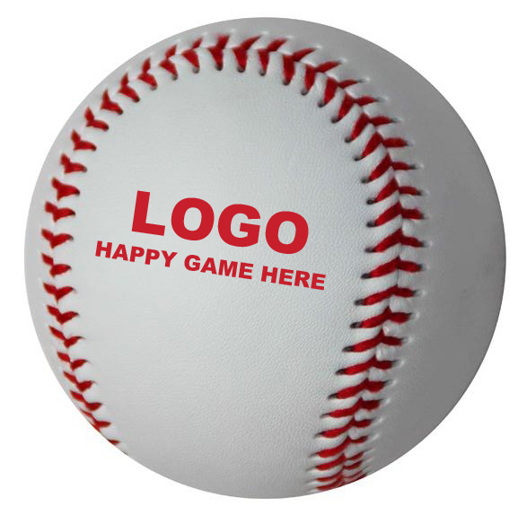 PVC Baseball, Synthetic Leather Baseball