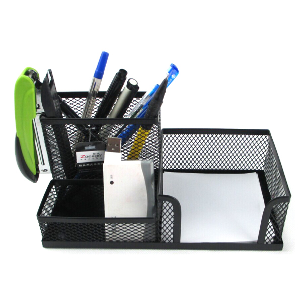 Pen Holder 3-in-1 Desk Organizer