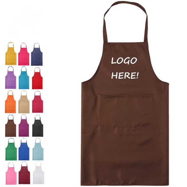 Polyester Apron W/Pocket