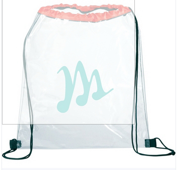 Promotional Customizable Plastic Drawstring Bag
