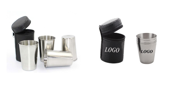 Stainless Steel Shot Glass Set