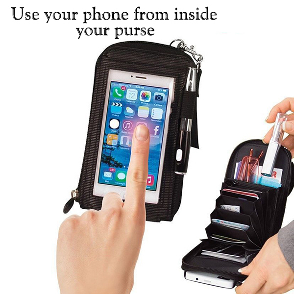 Touch Purse Cell Phone Case