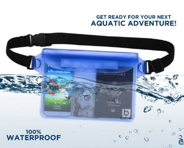 Waterproof Pouch Waist Cell Phone Bag