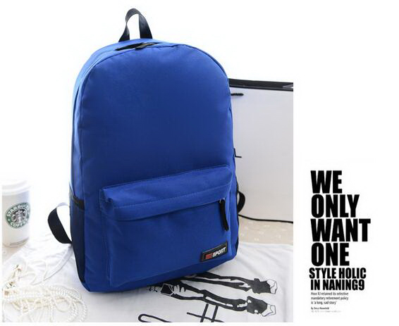 Wholesale candy colors cheap classic school backpack