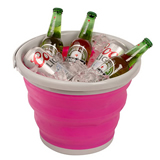 10l Foldable Silicone Collapsible Bucket