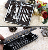 12 Pieces stainless steel Manicure Set for Girls
