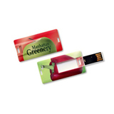 2 GB Credit Card Style USB Flash Drive