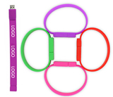 2 GB Silicone Bracelet Flash Drive