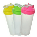 20 Oz. Plastic Fitness Shaker w/Measurements