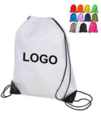 210D Polyester Drawstring Backpack