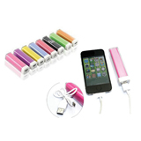 2200mAh Lipstick Style Power Bank Charger