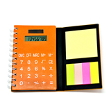3 in 1 Calculator Notebook