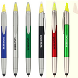 3-in-1 Stylus Pen with Highlighter