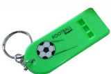 Promotional Whistle Key Chain (2 7/8