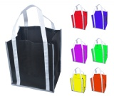 Non-Woven Bag W/ Safety Reflective Trim