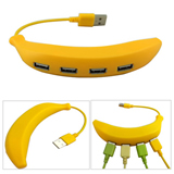 4-in-1 Banana Shape USB Hub