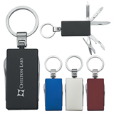 5 In 1 Multi-Function Aluminum Key Tag