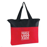 600D Grocery Tote Bag with Zipper
