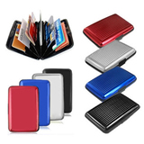 Aluminum Wallet Card Holder Case