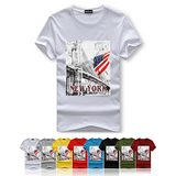 American Flag Plus Size T Shirts