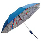 Automatic Open Close Folding Rain Umbrella