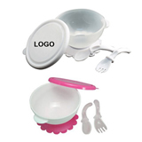 Baby Suction Bowl with fork and spoon