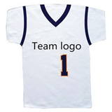 Basketball, Football, or Hockey Jersey Shaped Rally Towel