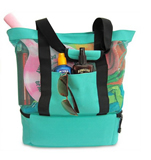 Beach Picnic 12 Can Cooler Tote Bag