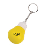 Bulb Stress Ball Keychain