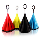 C-Holder Double Layer Upside Down Reverse Umbrella