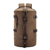 Canvas Travel Bucket Backpack