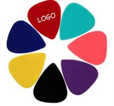 Celluloid Rounded Tri-Tip Shape Guitar Pick