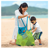 Child Toys Bag Beach Mesh Tote